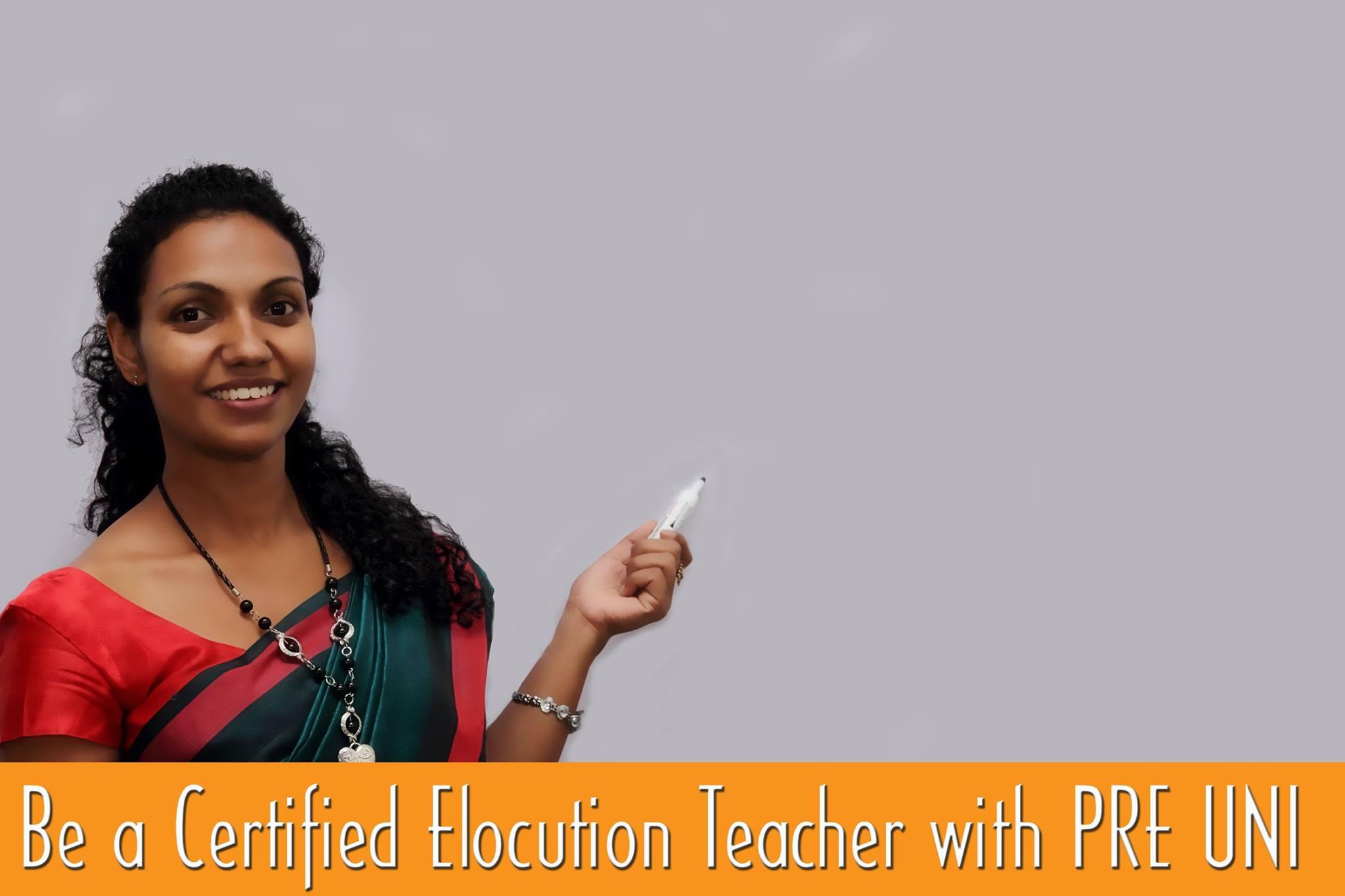 how to become an elocution teacher